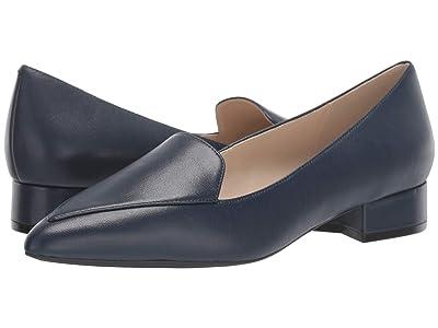 Cole Haan Dellora Skimmer (Marine Blue Leather) Women