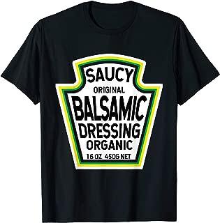 Balsamic Dressing Salad Easy Halloween Costume Matching T-Shirt