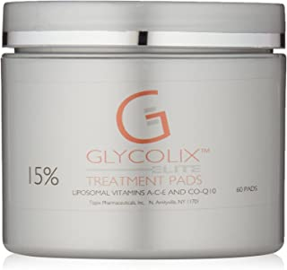 Glycolix Elite Glycolic Acid Treatment Pads, 60 Count