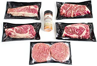 Nebraska Star Beef American Kobe Package, 4.58 Pound