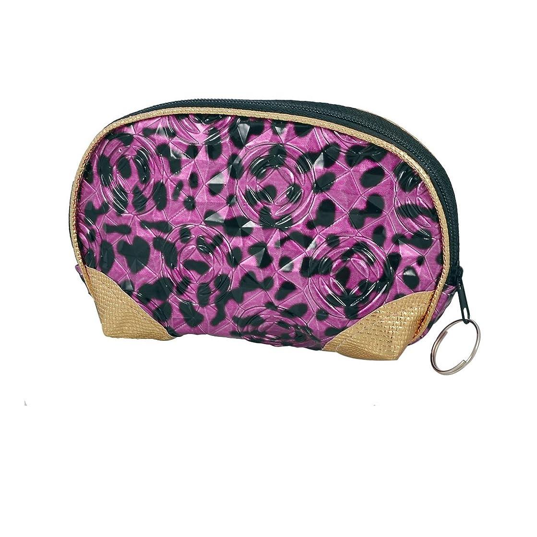 検索エンジンマーケティング虐待住人uxcell 財布 合皮の花柄 ファスナー コイン バッグ