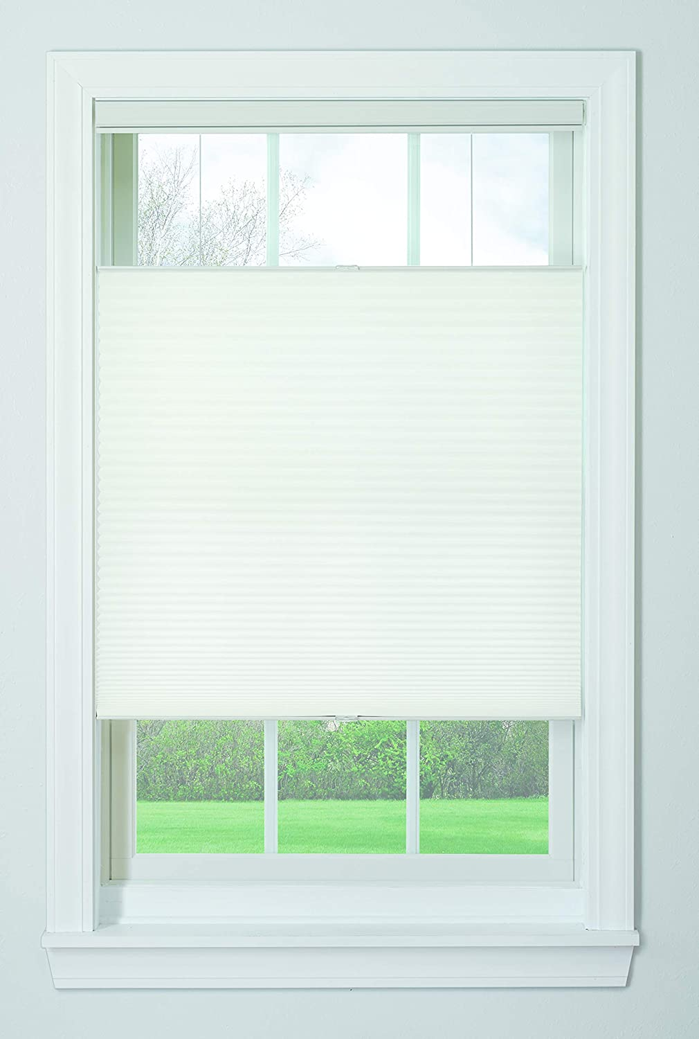 Amazon Com Bali Blinds Bottom Up Top Down Cordless Cellular Shades Window Covering 29 X 72 White Home Kitchen