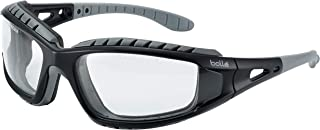 Bolle - Tracker II Safety Glasses/Specs Clear Lens + Free Bag