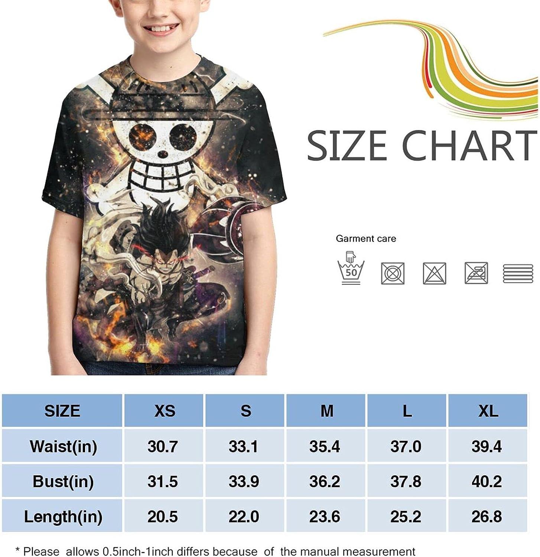 O-Ne Piece Retro Shirts Crew Neck Kids Anime T-Shirt Fashion T Shirts Tops