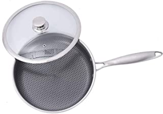 XUHRA Freír Sin Humo Antiadherente para Freír Inducción Olla De Cocción Don Universal Integrados Estufa De Gas De Horno De Cocción