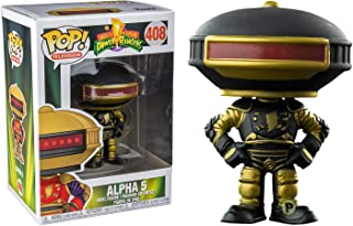 Funko Pop Power Rangers: Black and Gold Alpha 5 Collectible Figure, Multicolor