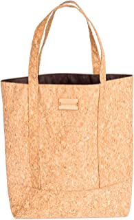 Tote Bag - Reusable Grocery Carrying Bag Made From Sustainable Eco-Friendly Cork Fabric