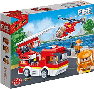 Banbao Fire Series, Multi-Colour, 7126, 344 Pieces