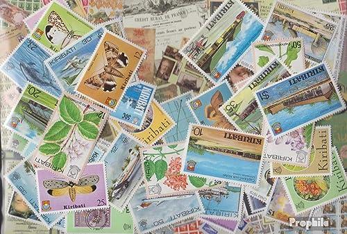 Kiribati 100 différents Timbres (Timbres pour Les collectionneurs)