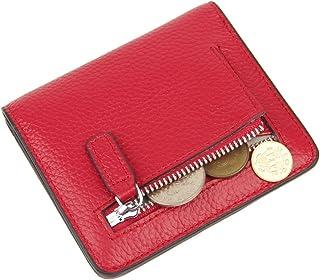 Anvesino Women's RFID Blocking Wallets Small Bifold Genuine Leather Slim Wallet