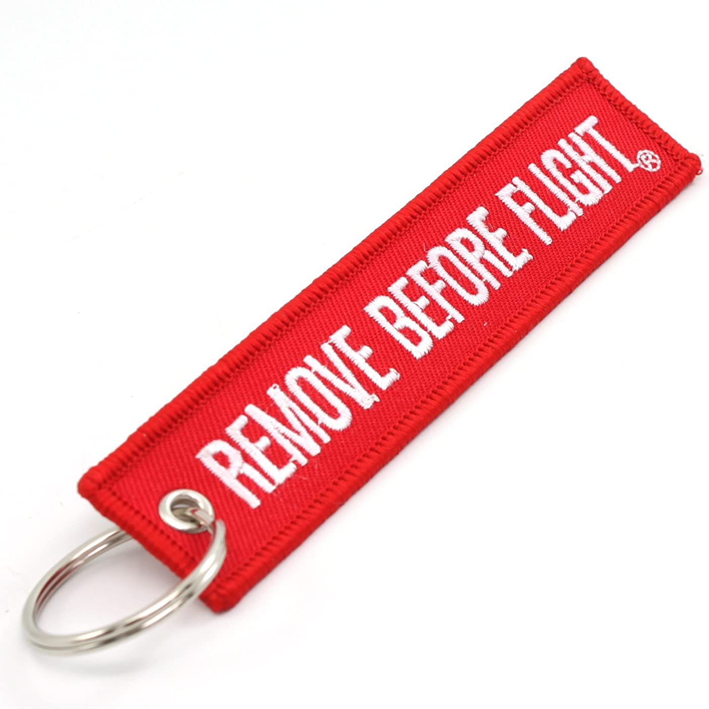 Rotary13B1 Remove Before Flight Key Chain - Red/White 1pc upvsoilwnpl320