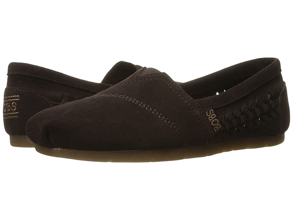 BOBS from SKECHERS Luxe Bobs Boho Crown (Chocolate) Women