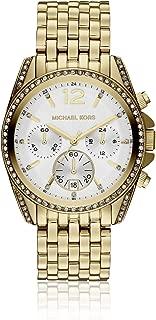 Mid-Size Golden Pressley Chronograph Glitz Women's watch #MK5835
