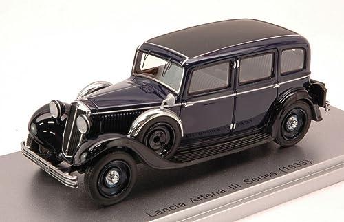 la mejor selección de KESS MODEL KS43019010 LANCIA ARTENA III SERIES SERIES SERIES 1933 azul negro 1 43 DIE CAST  disfrutando de sus compras