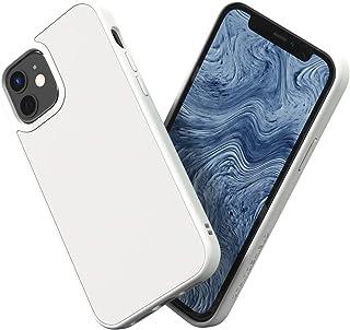 RhinoShield [iPhone 12 / 12 Pro] | SolidSuit ケース - 3.5mの落下衝撃からも保護 マット加工でスタイリッシュなデザイン - クラシックホワイト