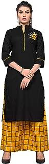 Vbuyz Women's Rayon Straight Kurti(VF-KU-307)