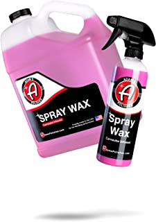 Adam's Spray Wax - Carnauba Infused Quick Detailer Spray Polish with The Most Advanced Formula on The Market for Ultimate Protection, High Gloss & A Streak Free Finish (BOGO)