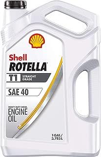 ROTELLA 550045381-3PK T1 40 1 Gal. 3pk. Cf/CF-2 Motor Diesel Oil, 1 Gallon, 3 Pack