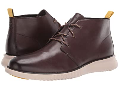 Cole Haan 2.Zerogrand Chukka (Black Walnut Leather) Men