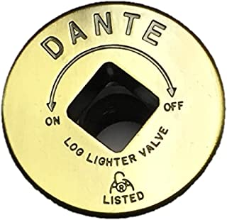 Dante Products (GV) Floor Plate, Antique Brass