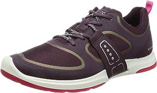 ECCO Women's Biom AMRAP Tie Fashion Sneaker Mauve/Mauve/Beetroot 41 EU/10-10.5 M US