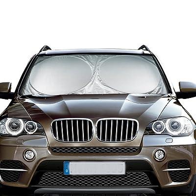 MATCC Windshield Sun Shade Car Sun Shade for Wi...