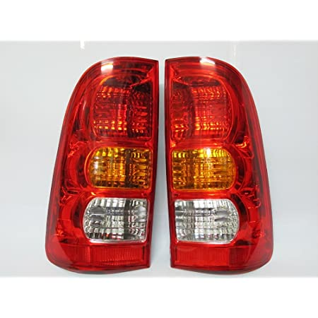 Toyota Hilux 2016 On Chrome Trim Tail Lamp Light  Surrounds