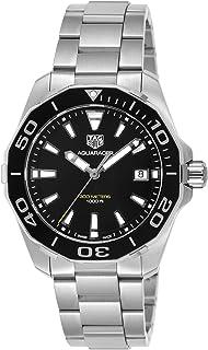 [タグ・ホイヤー]TAG Heuer 腕時計 Aquaracer ブラック文字盤 WAY111A.BA0928 メンズ 【並行輸入品】