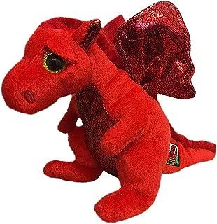 Ty Beanie Babies 41155 Y Ddraig Goch Welsh Dragon