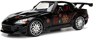 Jada Toys Fast & Furious 1:24 Johnny's Honda S2000 Car Figure, Black, multicolor, 99541