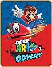 Super Mario Odyssey World Plush Throw Blanket - 40 in. x 50 in.