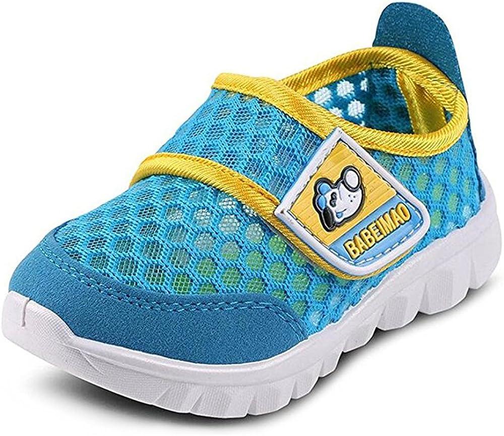 BAINASIQI Unisex Babyschuhe Kinder Sommer Atmungsaktives Mesh Sportschuhe Jungen M/ädchen Freizeitschuhe Sneaker Lauflernschuhe Krabbelschuhe mit