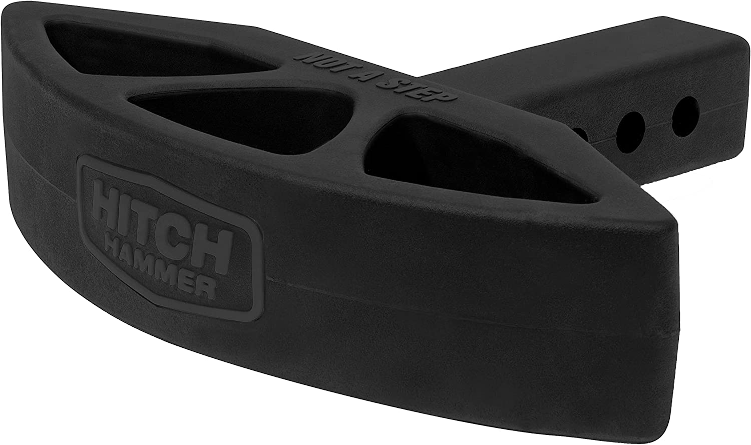 HitchHammer XL - Rear Hitch Max 90% OFF Flexible Mounted Guard. Rubbe Bumper Shipping included
