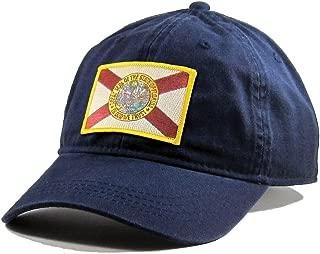 Men's Florida Flag Patch Cotton Twill Hat