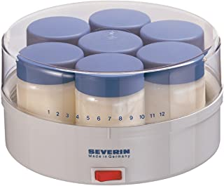 Severin JG 3516 Yoghurt Maker, White/Grey