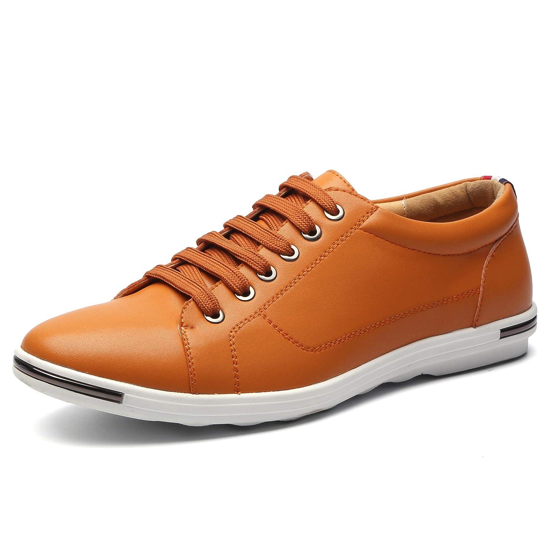 [Orktree] カジュアルシューズ メンズ ビジネスシューズ ローファー 紳士靴 革靴 レースアップ 通気性