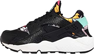 Air Huarache Run Print Aloha 725076-001 Black/Teal/Sail Floral Women's Shoes (Size 8)