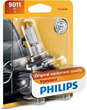 Philips Automotive Lighting 9011 HIR Standard Halogen Replacement Headlight Bulb, 1 Pack