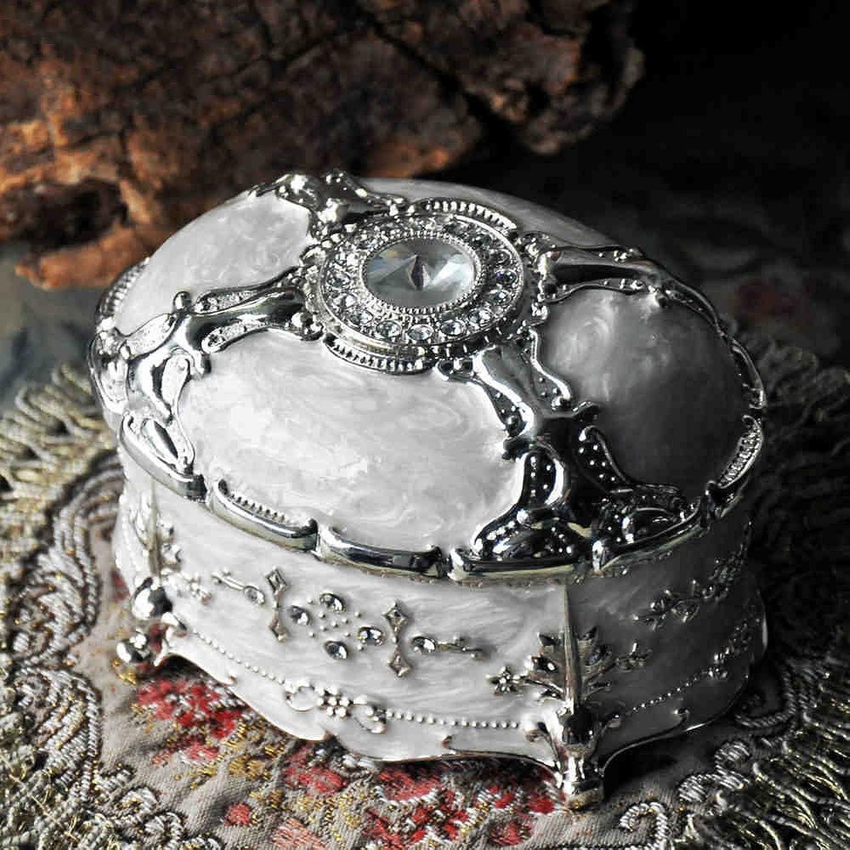 envío gratis GLJ Rectángulo de joyería Europeo Retro Caja de Almacenamiento de de de joyería Grande Joyero (Tamaño   Large)  preferente