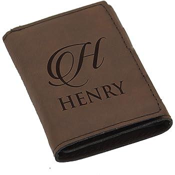 Vertical wallet tri-fold wallet custom photo wallet men perfect custom gift