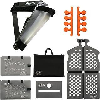 世界最小級ガーメントバッグ「SU-PACK」+閉じた傘の持ち歩き特許ホルダー「KASATEBURA」+「あしゆび」セット [並行輸入品]