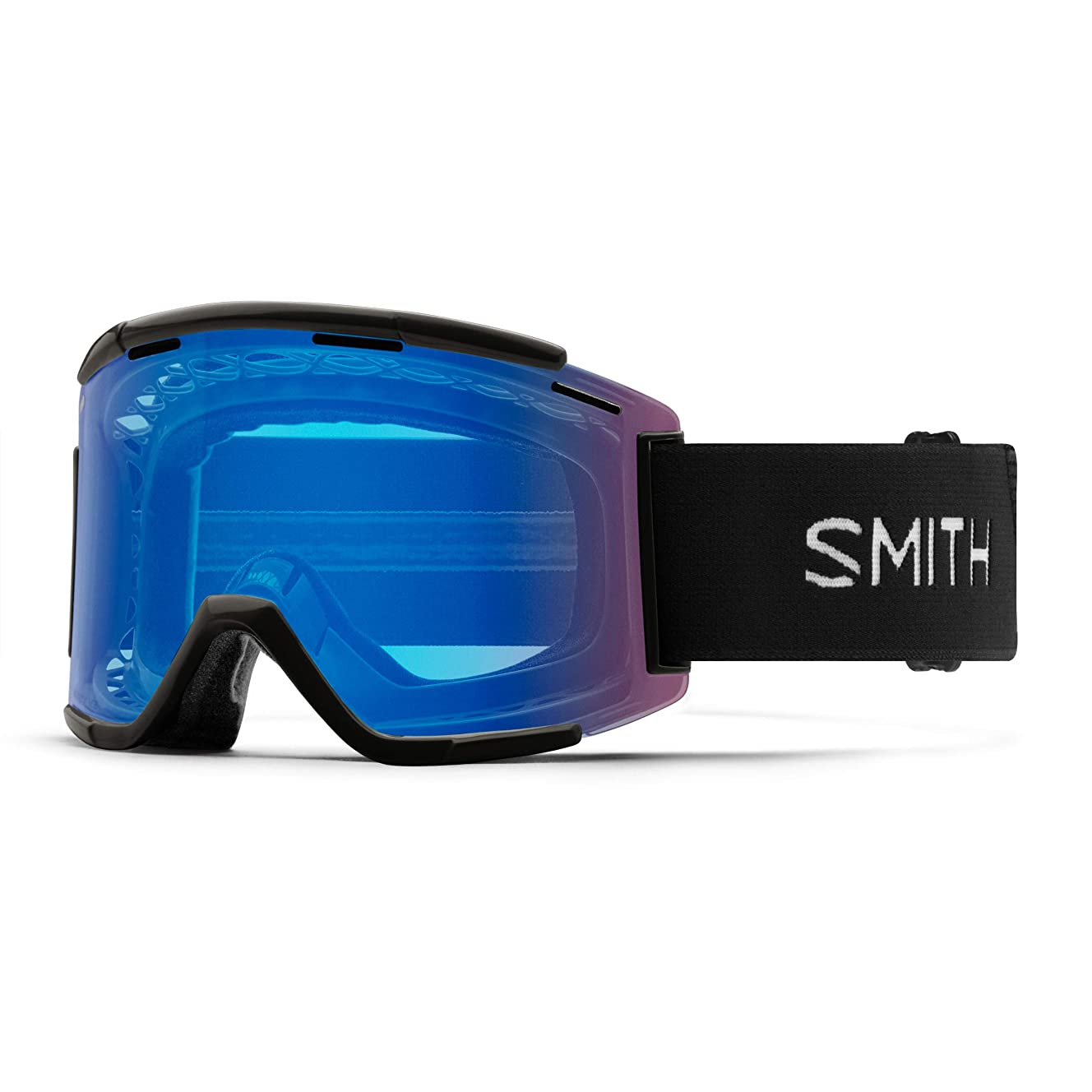 Smith Optics Squad XL Adult Off-Road Cycling Goggles - Black/ChromaPop Contrast Rose/One Size
