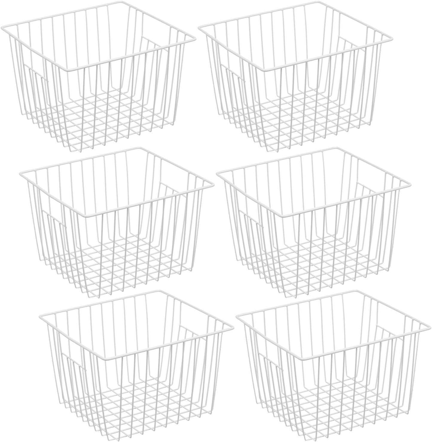 iPEGTOP Max 60% OFF Deep Refrigerator Freezer Outlet SALE Baskets B Basket Storage Wire