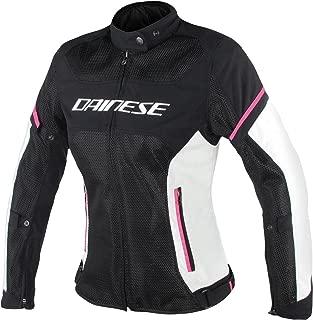 Dainese Women's Air Frame D1 Lady Tex Jacket Black/Grey/Fuschia 42