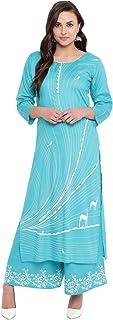 VOOM Women's Rayon Salwar Suit