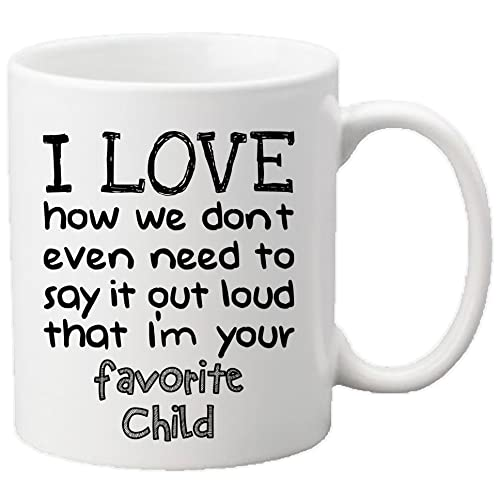 Muggies Favorite Child 11oz Funny Ceramic Mug