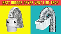 4 Inch Dundas Jafine TDIDVKZW Indoor Dryer Vent Kit with 4-Inch by 5-Foot Proflex Duct 4 Inch White .1 Count