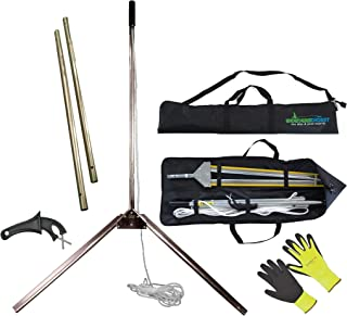 The WeedBlade - Lake & Pond Aquatic Weed & Water Grass Cutter Plus Soft Protective Carrying Case