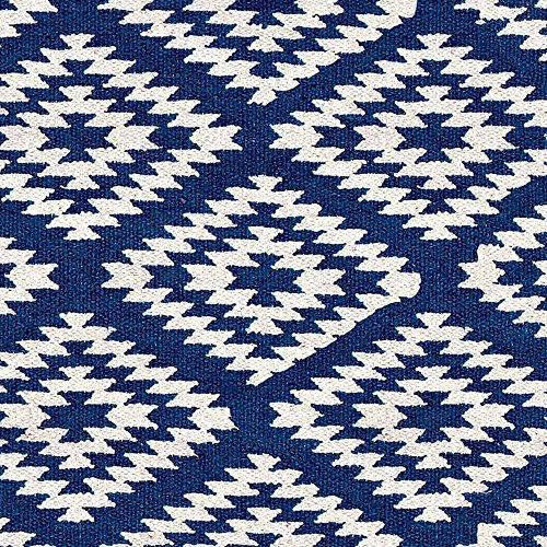 milanari Teppich Apache dunkelblau-beige Größe 200 x 300 cm