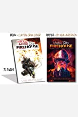 Inferno City Firehouse w/ Cracked Poster (8.5 x 12) Perfect Paperback